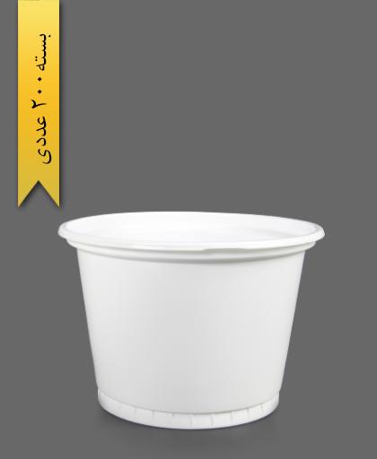 ماستی 2700 شیری - ظروف یکبار مصرف تمیزی