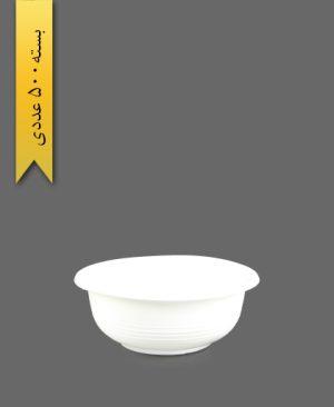 کاسه 350 شیری - ظروف یکبار مصرف تمیزی