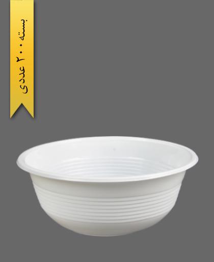 کاسه مینی مارشال شیری - ظروف یکبار مصرف تمیزی