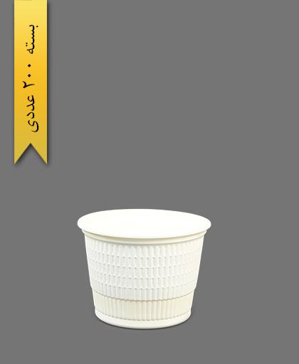 سطل گیاهی 800 - ظروف گیاهی یکبار مصرف آملون