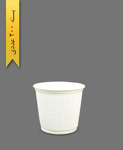 سطل گیاهی 1000 - ظروف گیاهی یکبار مصرف آملون