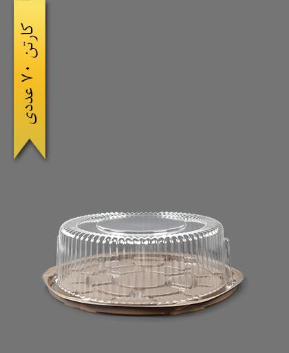 ظرف کیک کوچک - ظروف یکبار مصرف صنایع پلاستیک خوزستان