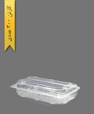 جعبه مجلسی کوتاه - ظروف یکبار مصرف صنایع پلاستیک خوزستان
