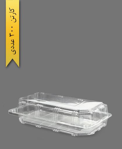 جعبه صبحانه بزرگ - ظروف یکبار مصرف صنایع پلاستیک خوزستان