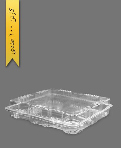 جعبه حجاج پنج خانه - ظروف یکبار مصرف صنایع پلاستیک خوزستان