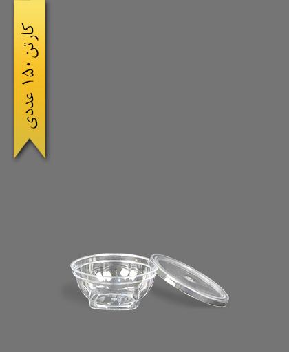 ظرف هلنسا 50 شفاف - ظروف یکبار مصرف کوشا