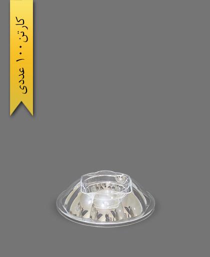 درب مخصوص هلنسا 500 شفاف - ظروف یکبار مصرف کوشا