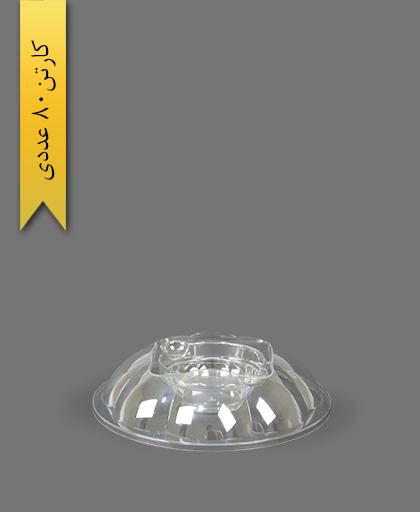 درب مخصوص هلنسا 1000 شفاف - ظروف یکبار مصرف کوشا