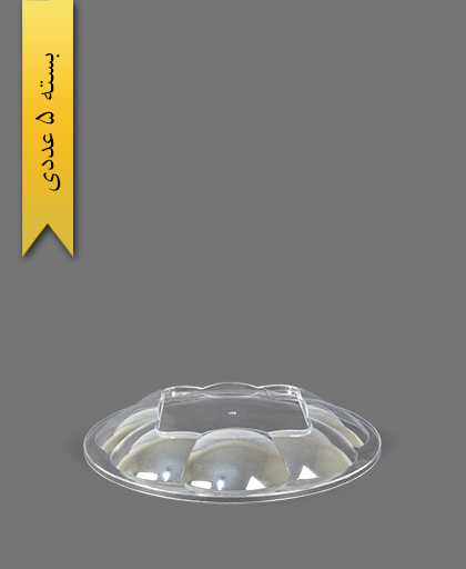 درب ساده هلنسا 2000 شفاف - ظروف یکبار مصرف کوشا