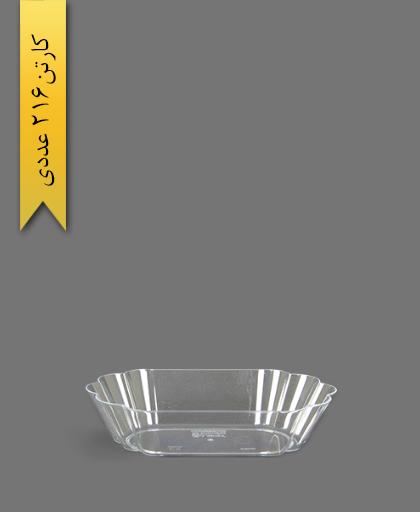 دسری شایلین 400 شفاف - ظروف یکبار مصرف کوشا