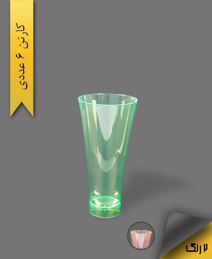 لیوان 450cc بلک لایت رنگی - ظروف یکبار مصرف کوشا