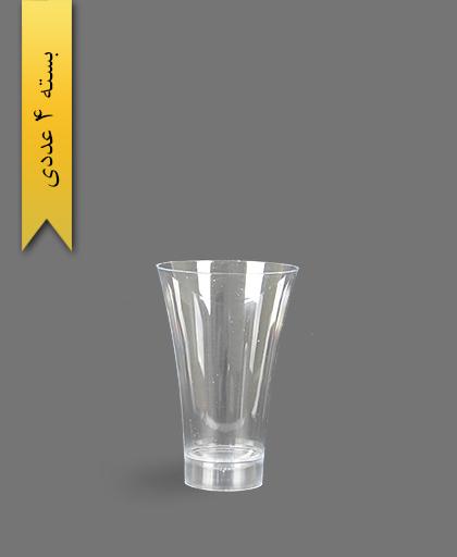 لیوان 280cc نایس شفاف - ظروف یکبار مصرف کوشا