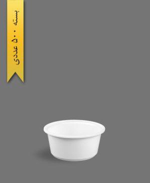 خورشتی سفید - ظروف یکبار مصرف تاب فرم