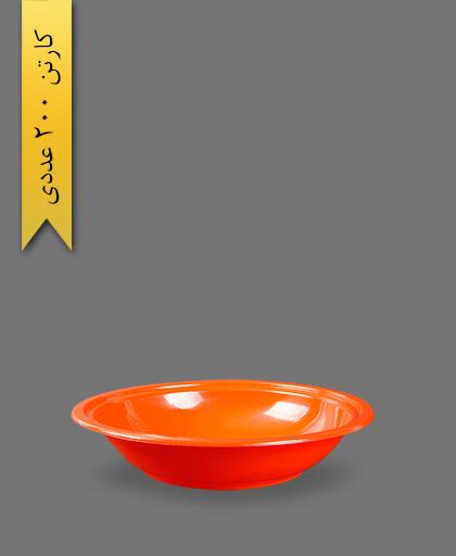 زیره ظرف سالاد سزار 1000 قرمز - ظروف یکبار مصرف ام پی