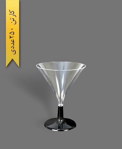 جام سپهر پایه مشکی - ظروف یکبار مصرف کوشا