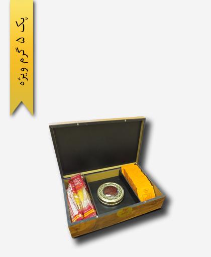 پک هدیه زعفران سرگل ویژه 5 گرم - زعفران سحر خیز