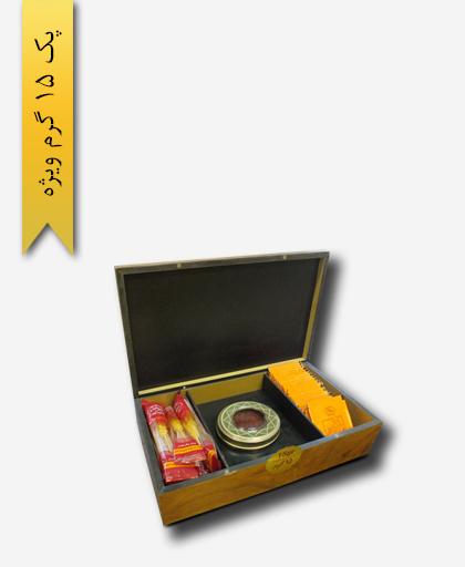 پک هدیه زعفران سرگل ویژه 15 گرم - زعفران سحر خیز
