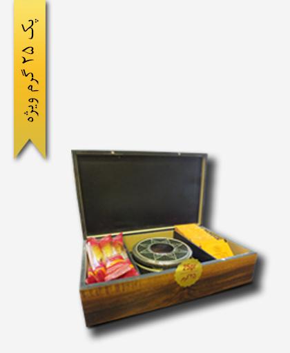 پک هدیه زعفران سرگل ویژه 25 گرم - زعفران سحر خیز