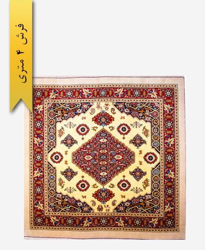 فرش ترکیبی پشمی 4 متری لری باف 100301