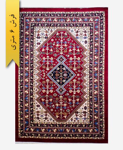 فرش ترکیبی پشمی 6 متری لری باف 100602