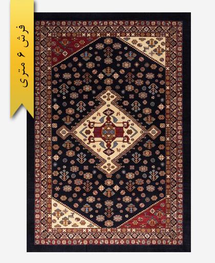 فرش پشمی طرح گلیم 6 متری لری باف 101401