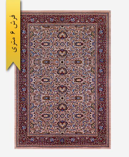 فرش ترکیبی پشمی 6 متری لری باف 101101