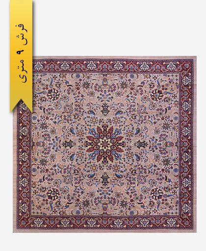فرش ترکیبی پشمی 9 متری لری باف 1010201