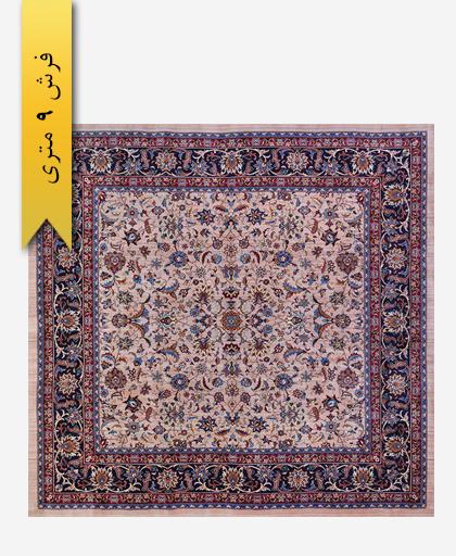 فرش ترکیبی پشمی 9 متری لری باف 101301