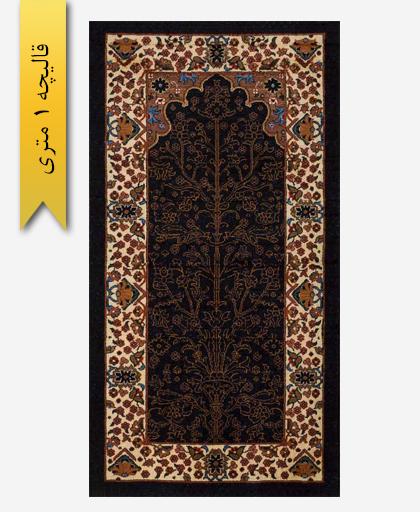 فرش ترکیبی پشمی 1 متری لری باف 101602