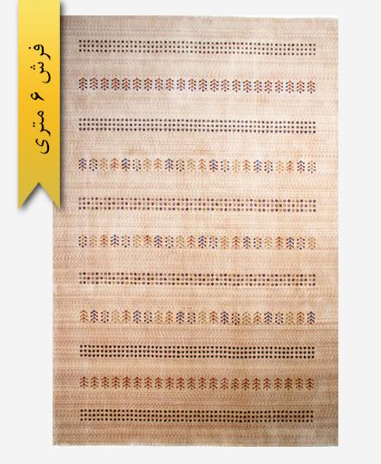 فرش ترکیبی پشمی 6 متری گبه 300101