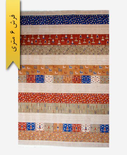 فرش ترکیبی پشمی 6 متری گبه 300301