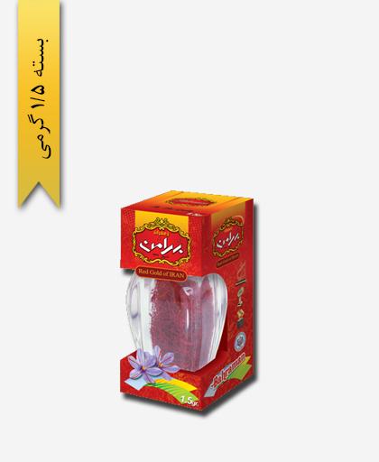 زعفران سر گل جم 1/5 گرمی بهرامن