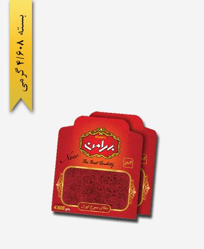 زعفران سر گل پاکتی ورقی 4/608 گرمی بهرامن