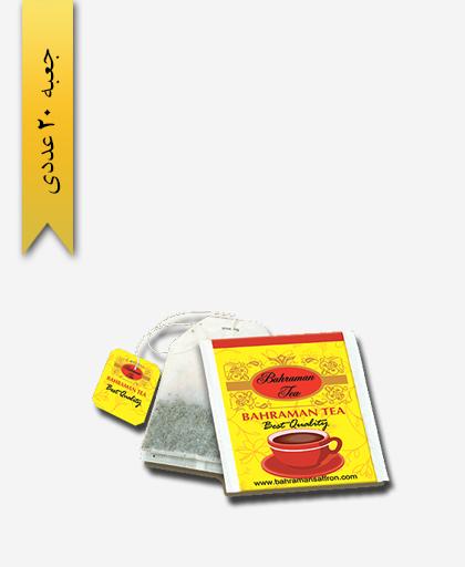 چای کیسه ای زعفرانی بهرامن