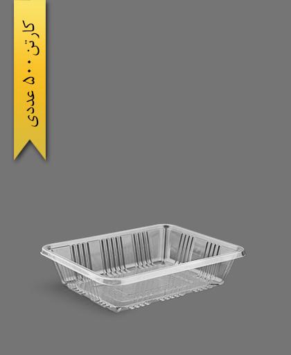 دوپرس 5cm شفاف - ظروف یکبار مصرف آذران ورق