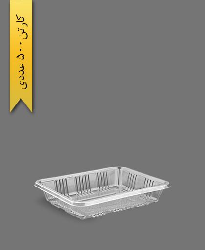 دوپرس 4cm شفاف - ظروف یکبار مصرف آذران ورق