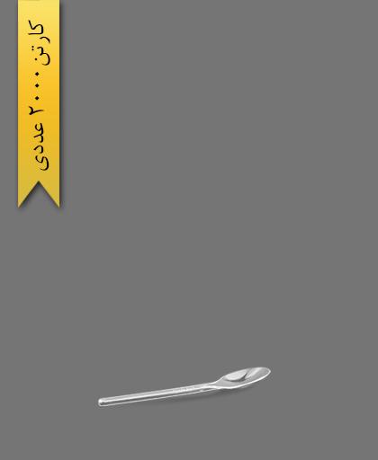 قاشق نسکافه سیلور 304 شفاف - ظروف یکبار مصرف ام جی