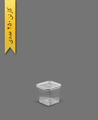 دسری آرما 140 با درب - ظروف یکبار مصرف برنا