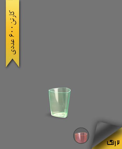 لیوان سه گوش 50 لونا بلک لات - ظروف یکبار مصرف کوشا