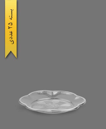 پیش دستی گلبرگ 1000 شفاف - ظرف یکبار مصرف ام پی