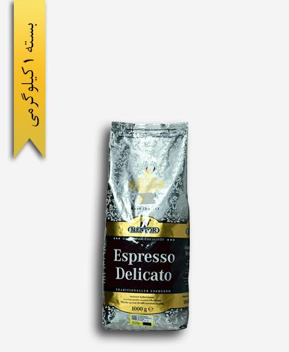 قهوه اسپرسو دلیکالتو ( دانه ) - منتور سوئیس