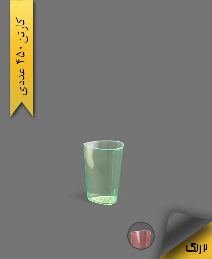 لیوان سه گوش لونا 100 رنگی بلک لایت - ظروف یکبار مصرف کوشا