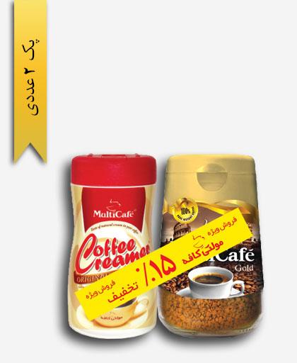 قهوه فوری گلد و کریمر - مولتی کافه