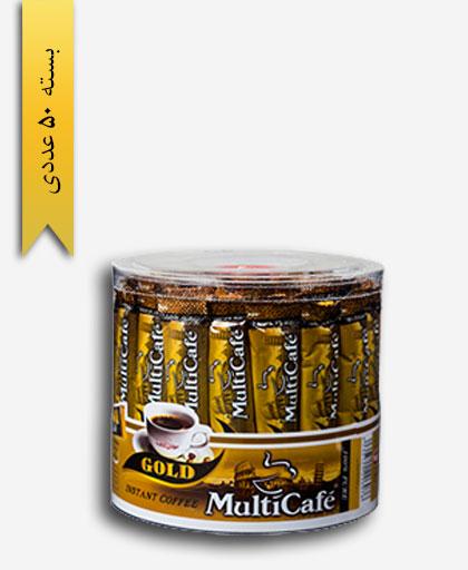 قهوه فوری گلد شاسه 2 گرمی - مولتی کافه