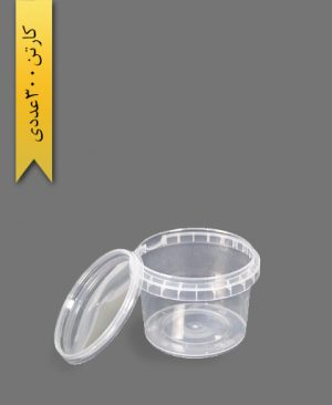 سطل b 310 با درب - ظروف یکبار مصرف طب پلاستیک