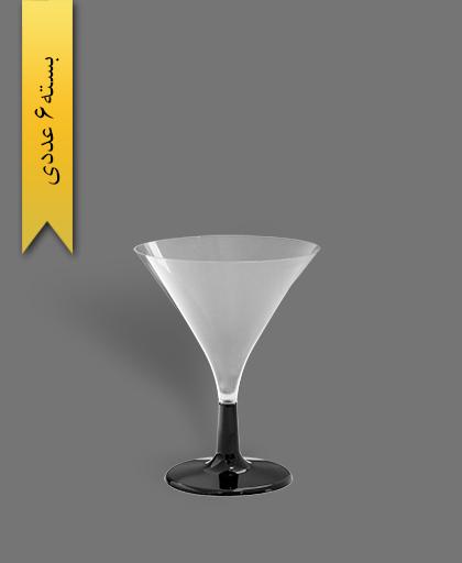 جام سپهر 180cc شفاف - ظروف یکبار مصرف کوشا