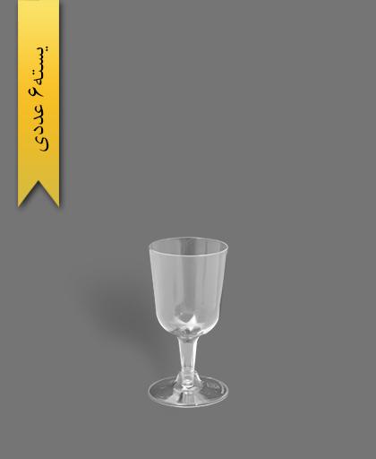 جام پارس 140cc شفاف - ظروف یکبار مصرف کوشا