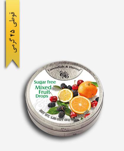 آبنبات بدون شکر مخلوط میوه - کاوندیش و هاروی