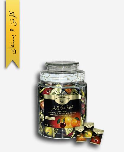 آبنبات مخلوط لیمو ترش آلبالو پرتقال - کاوندیش و هاروی
