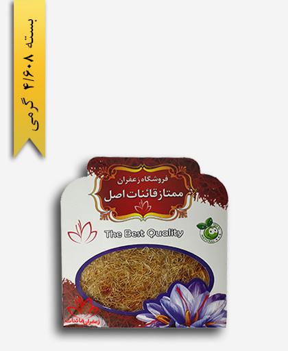 زعفران پوشال 1 مثقالی پاکتی - زعفران قائنات